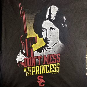 USC her style Tops - USC Leia V-Neck Tee